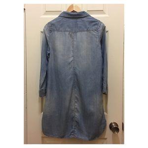 Dresses - CHAMBRAY TUNIC DRESS